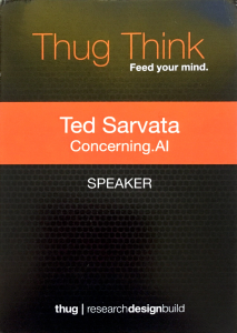 Ted_s Talk name badge